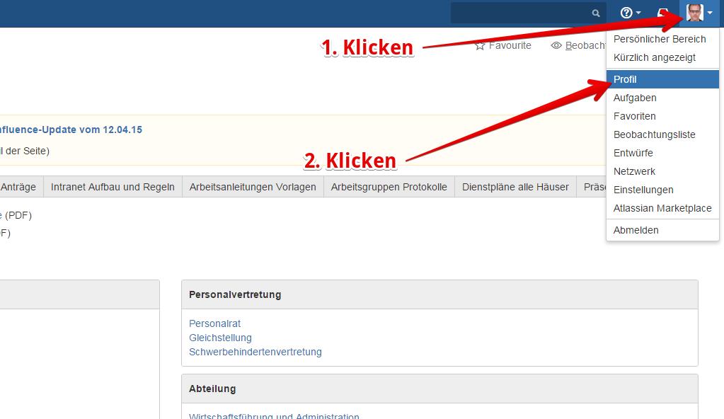 E Mail Adresse ändern Im Profil All Hilfe Tib Wiki